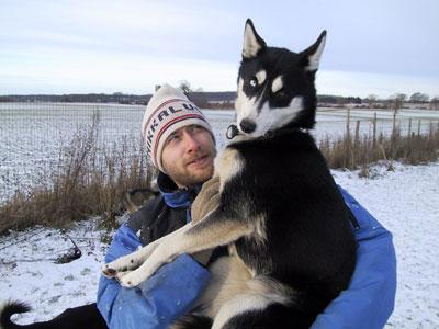 Lars with Jarvik's Tana